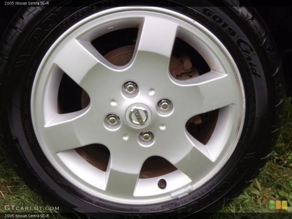 2005 Nissan Sentra SE-R Wheel and Tire Photo #52486514