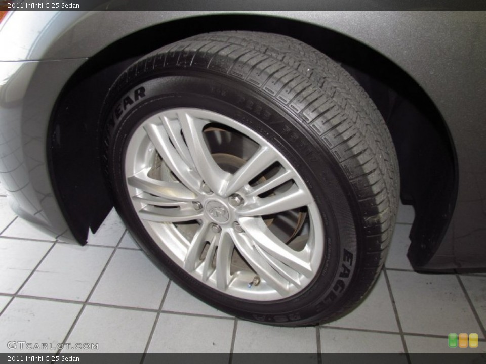 2011 Infiniti G Wheels and Tires