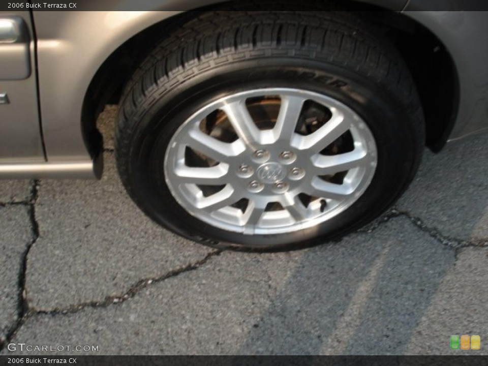 2006 Buick Terraza Wheels and Tires