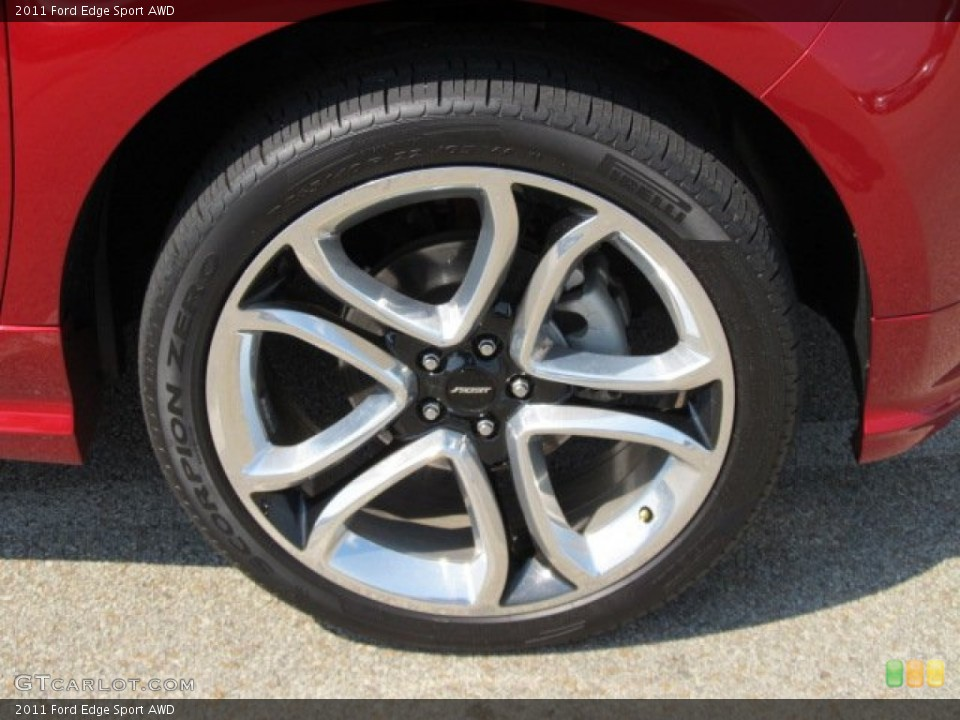 2007 Ford Edge Sel >> 2011 Ford Edge Sport AWD Wheel and Tire Photo #53950313 ...