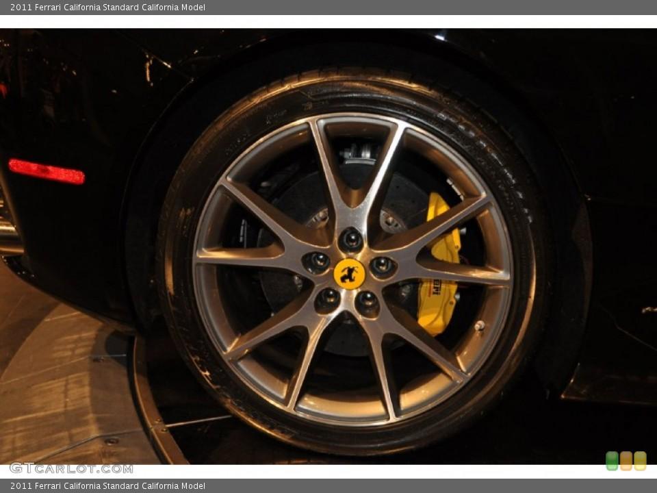 2011 Ferrari California  Wheel and Tire Photo #54451752
