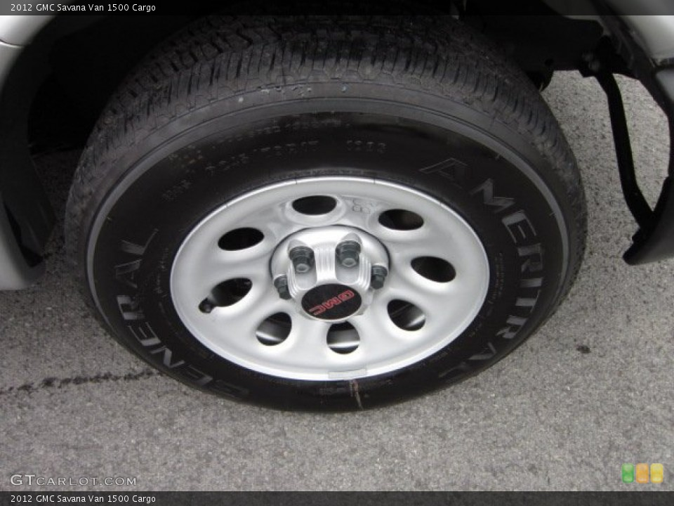 2012 GMC Savana Van Wheels and Tires