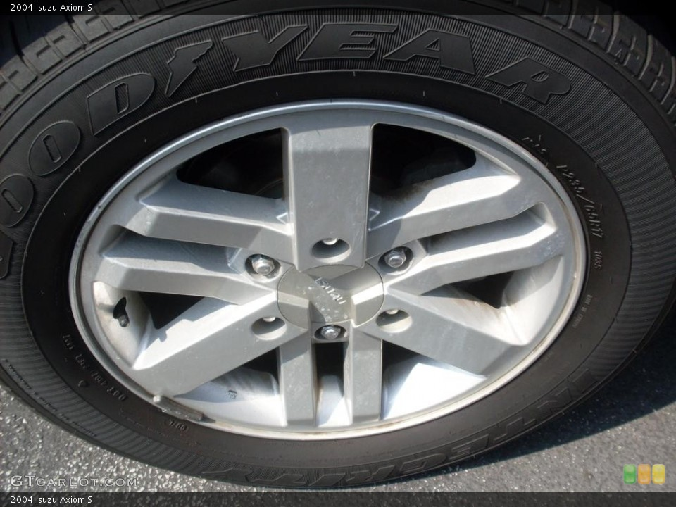 2004 Isuzu Axiom Wheels and Tires