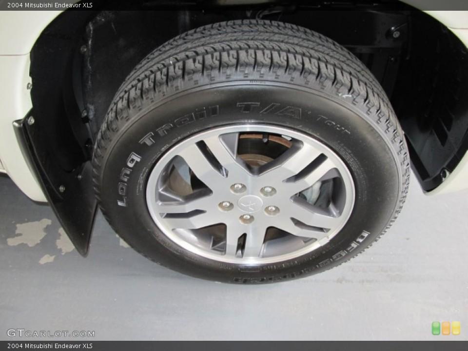 2004 Mitsubishi Endeavor XLS Wheel and Tire Photo #55484429