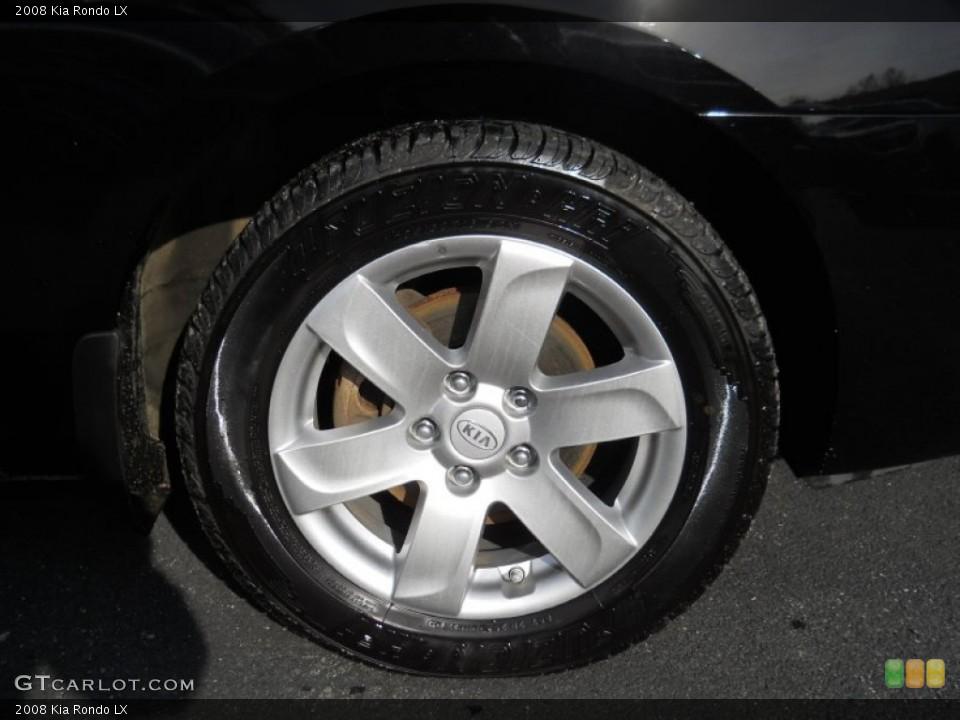 2008 Kia Rondo Wheels and Tires