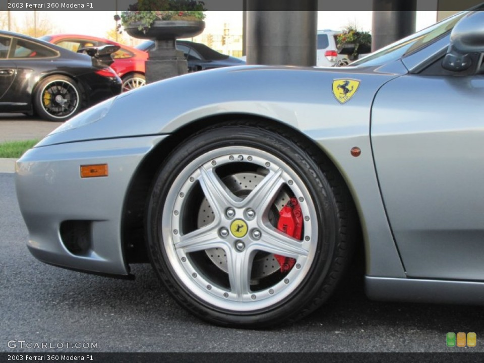 2003 Ferrari 360 Wheels and Tires