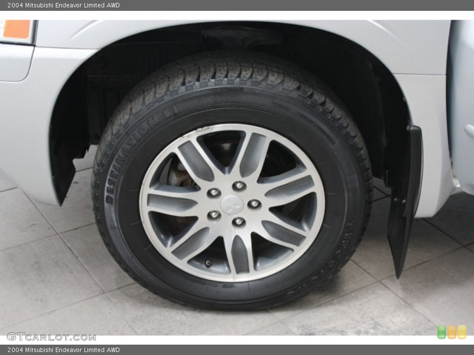 2004 Mitsubishi Endeavor Limited AWD Wheel and Tire Photo #57510787