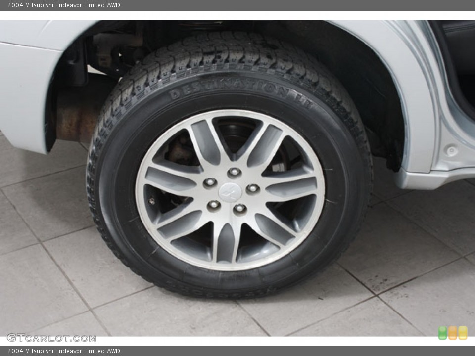 2004 Mitsubishi Endeavor Limited AWD Wheel and Tire Photo #57510796