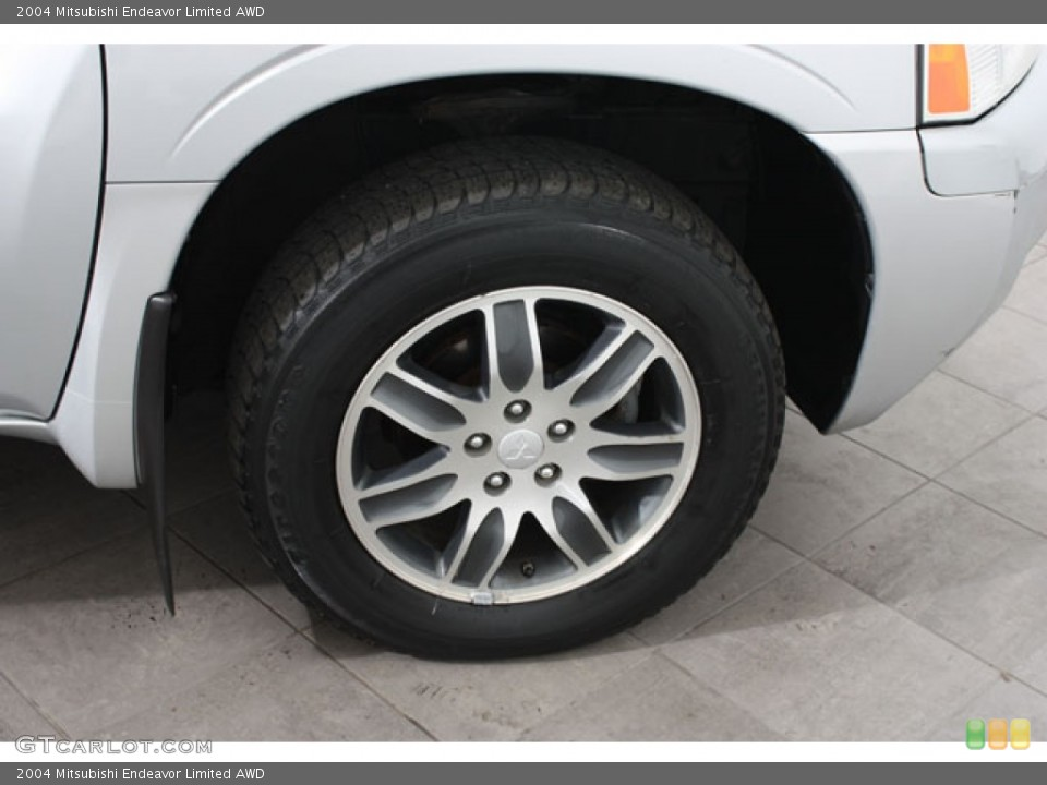 2004 Mitsubishi Endeavor Limited AWD Wheel and Tire Photo #57510811