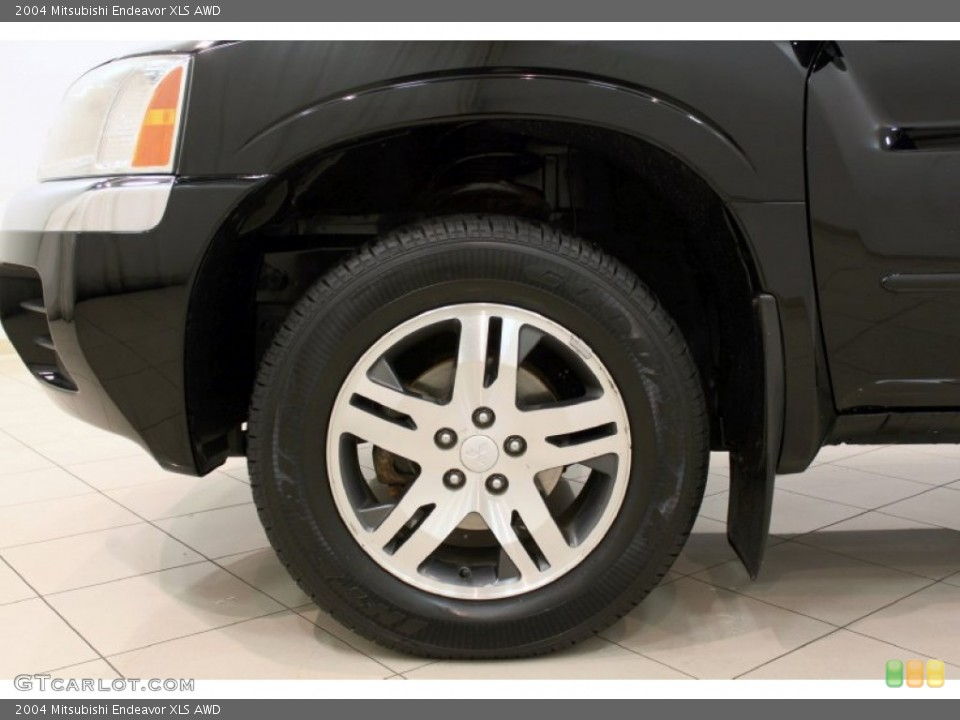 2004 Mitsubishi Endeavor XLS AWD Wheel and Tire Photo #57766511