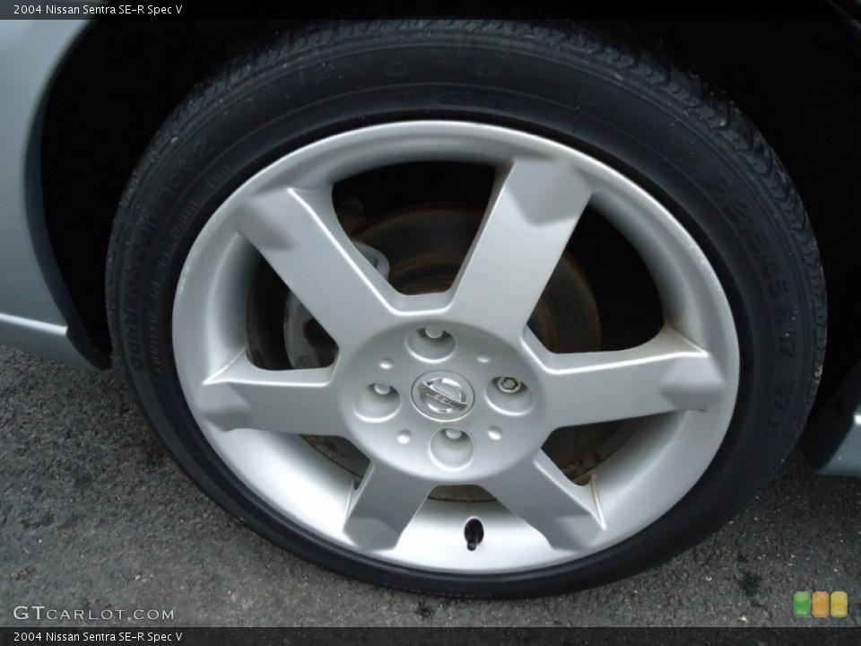 2004 Nissan Sentra SE-R Spec V Wheel and Tire Photo #57889081