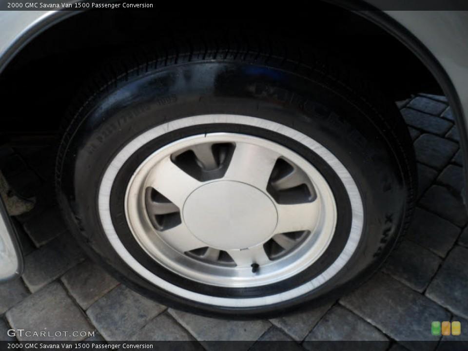 2000 GMC Savana Van Wheels and Tires