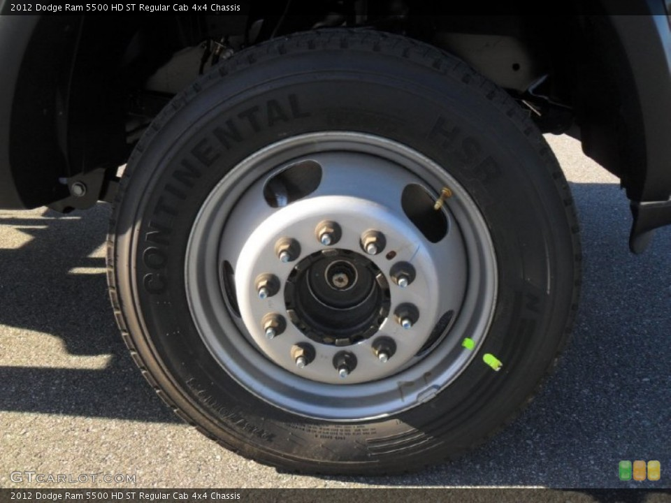 2012 Dodge Ram 5500 HD Wheels and Tires