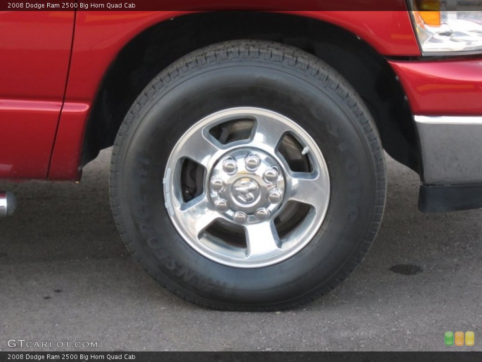 2008 Dodge Ram 2500 Wheels and Tires