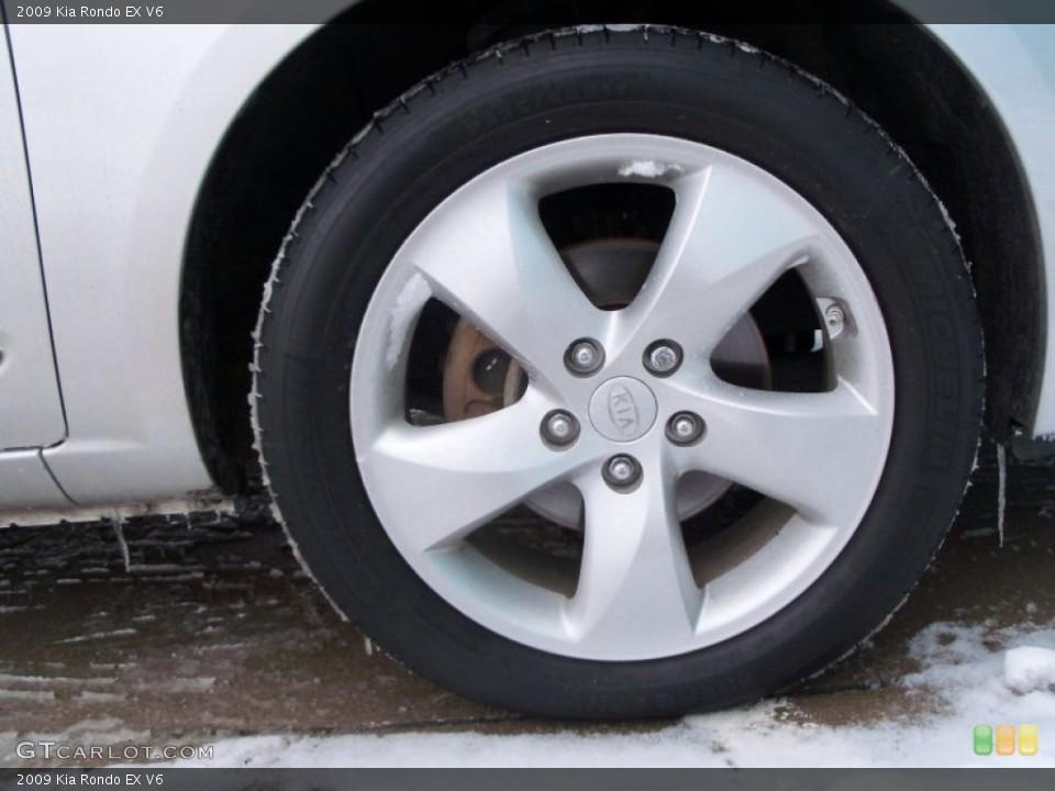 2009 Kia Rondo Wheels and Tires