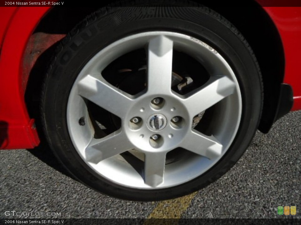 2004 Nissan Sentra SE-R Spec V Wheel and Tire Photo #60258377