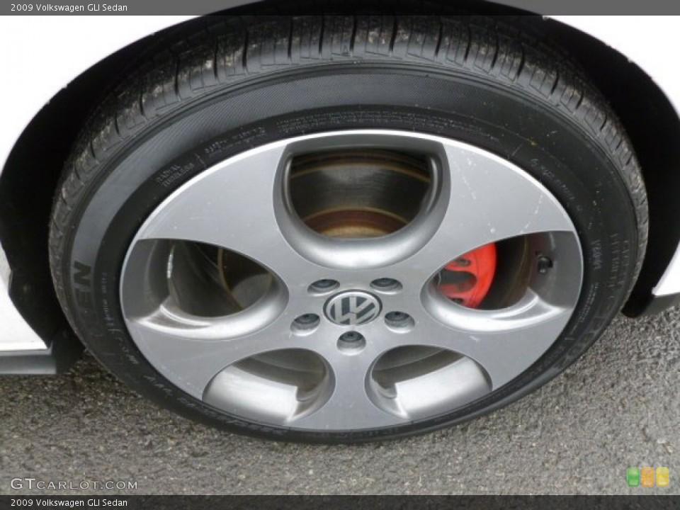 2009 Volkswagen GLI Sedan Wheel and Tire Photo #61067193