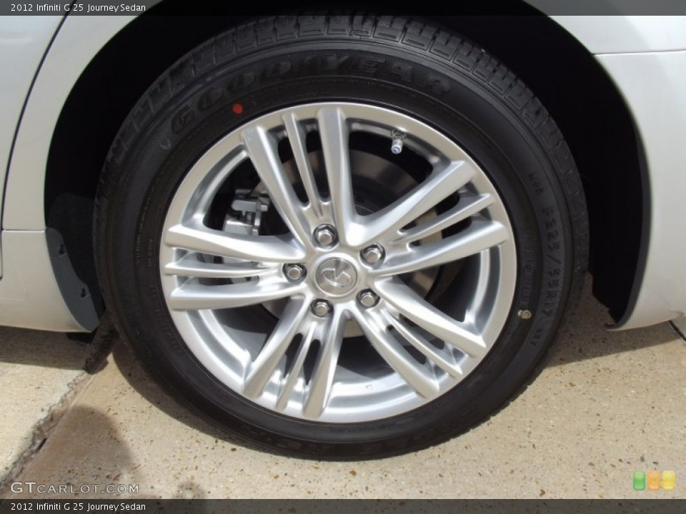 2012 Infiniti G Wheels and Tires