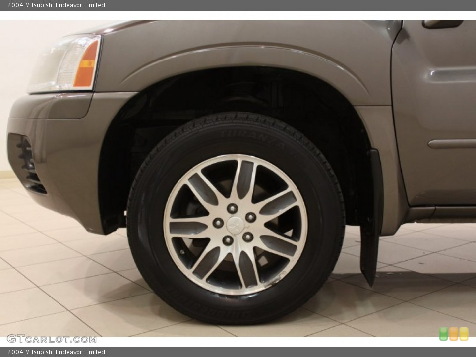 2004 Mitsubishi Endeavor Limited Wheel and Tire Photo #62428587