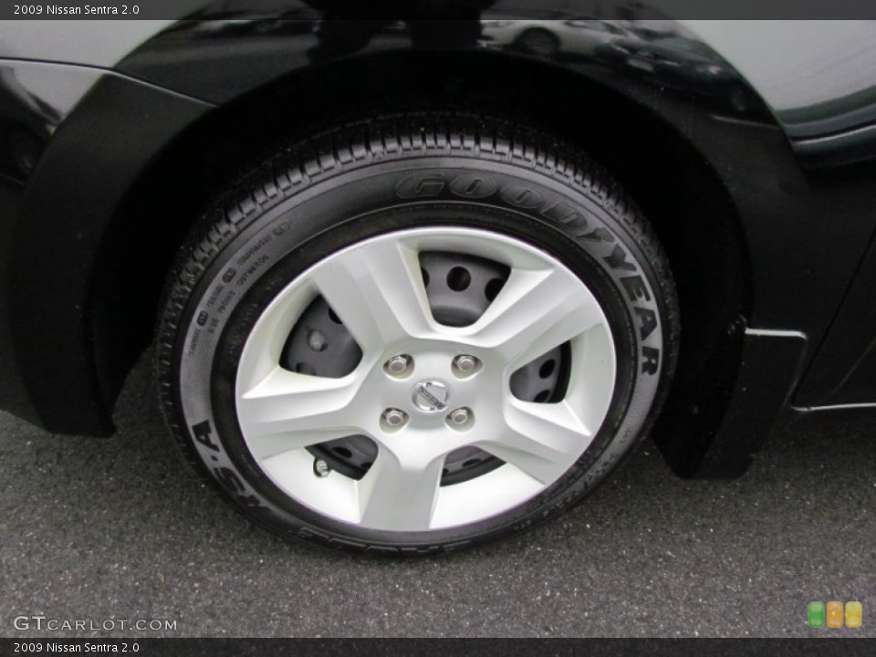 2009 Nissan Sentra Wheels and Tires