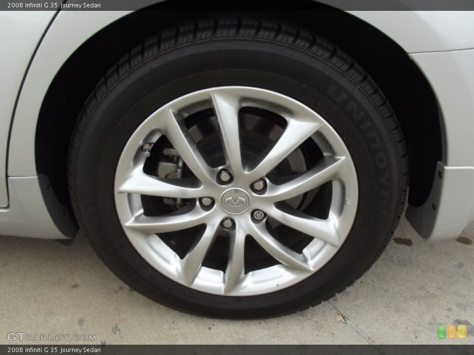 2008 Infiniti G Wheels and Tires