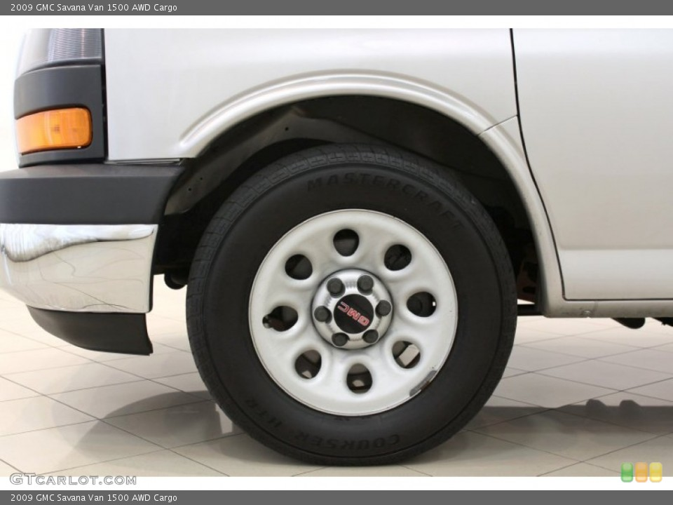 2009 GMC Savana Van Wheels and Tires