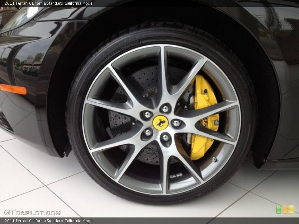 2011 Ferrari California  Wheel and Tire Photo #64710255