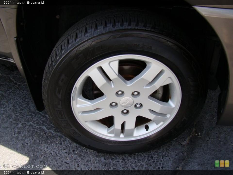 2004 Mitsubishi Endeavor LS Wheel and Tire Photo #64743288