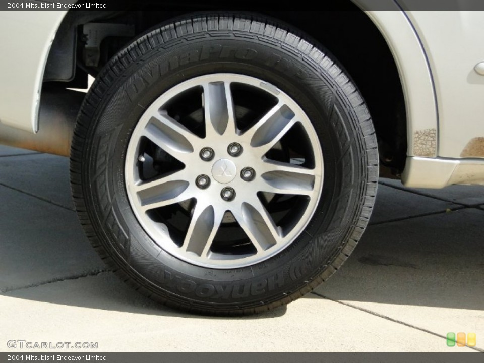 2004 Mitsubishi Endeavor Limited Wheel and Tire Photo #64796422