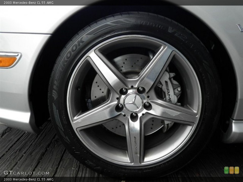 2003 Mercedes-Benz CL Wheels and Tires