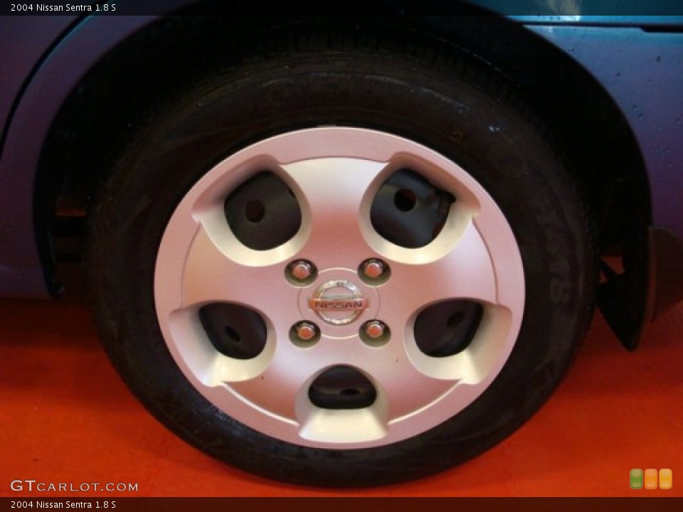 2004 Nissan Sentra 1.8 S Wheel and Tire Photo #65208529