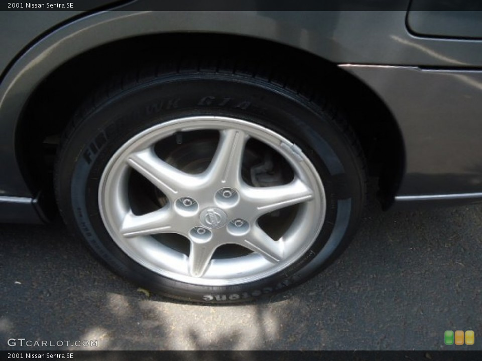 2001 Nissan Sentra Wheels and Tires