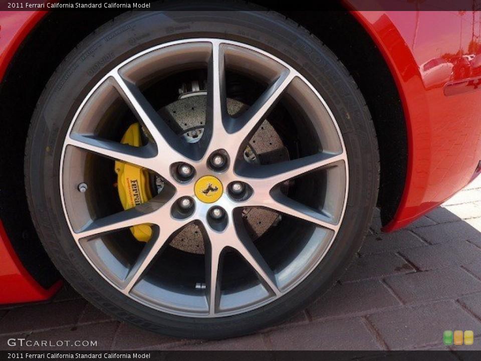 2011 Ferrari California  Wheel and Tire Photo #65733784