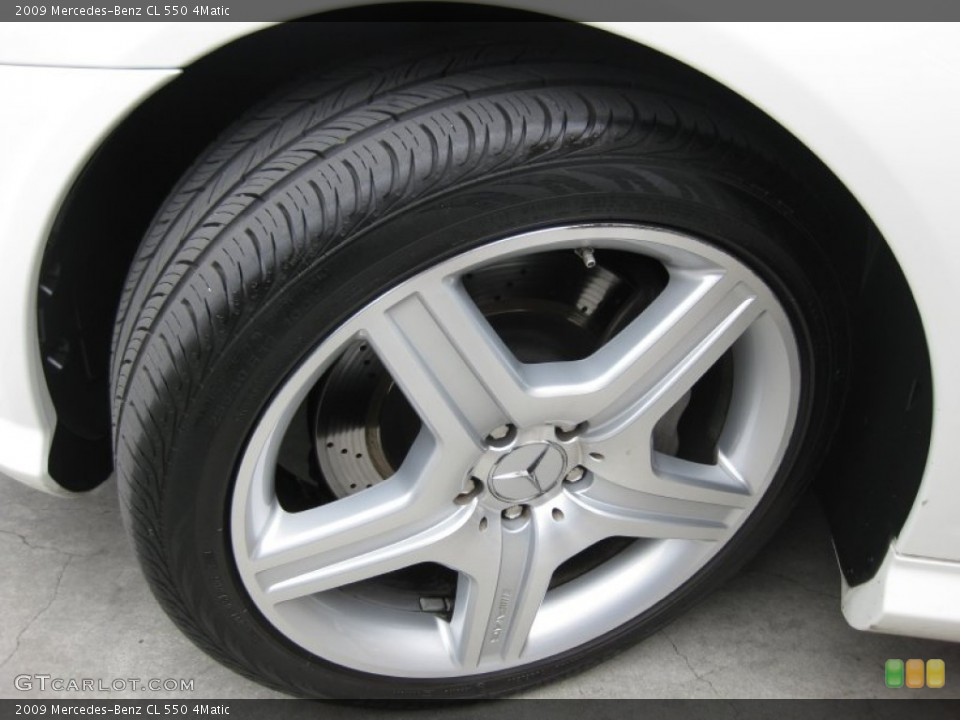 2009 Mercedes-Benz CL Wheels and Tires