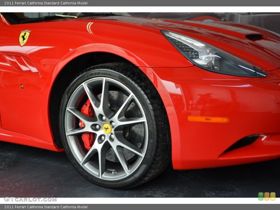 2011 Ferrari California  Wheel and Tire Photo #66213736