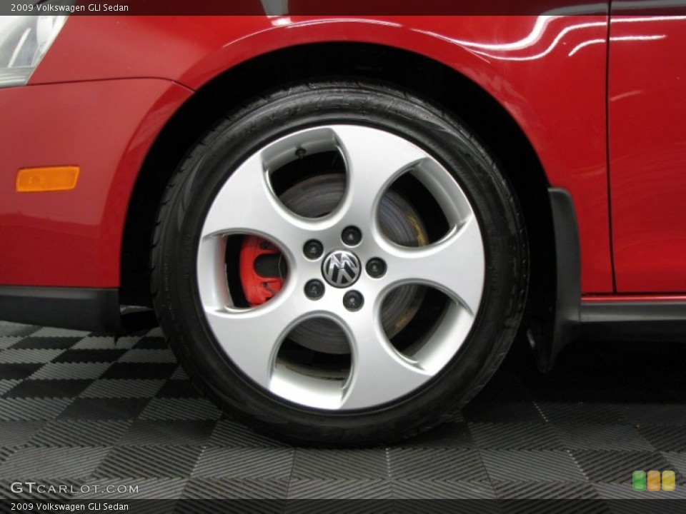 2009 Volkswagen GLI Sedan Wheel and Tire Photo #66344969