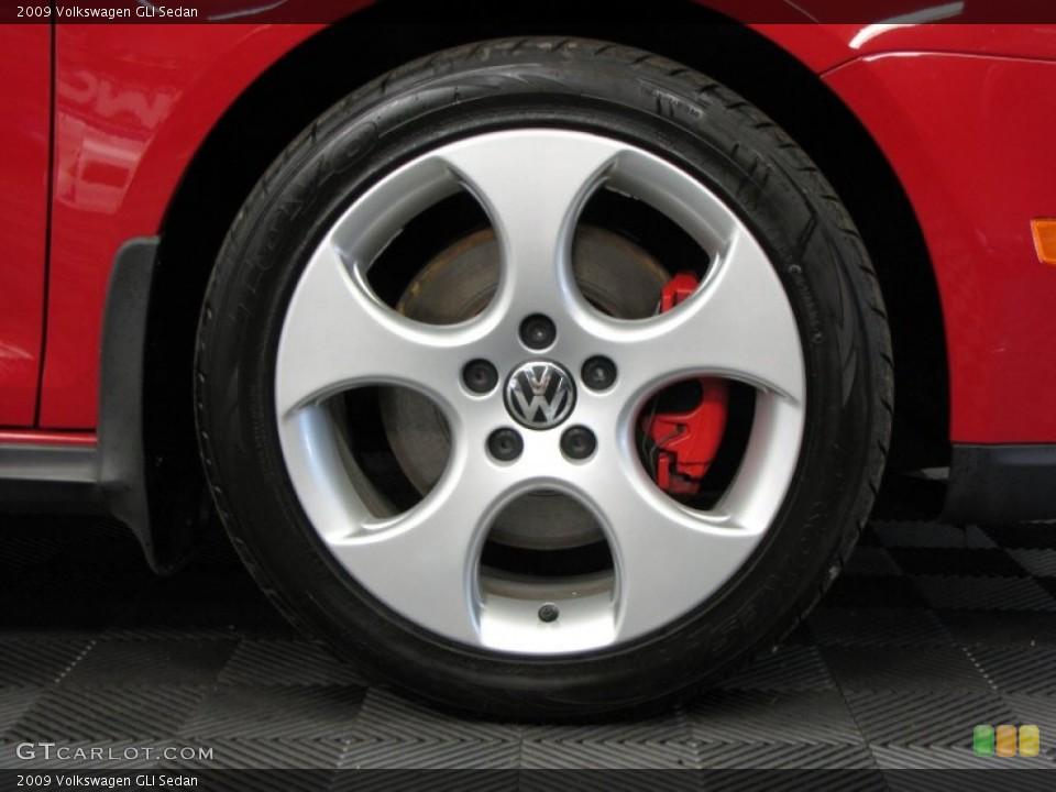 2009 Volkswagen GLI Sedan Wheel and Tire Photo #66344978