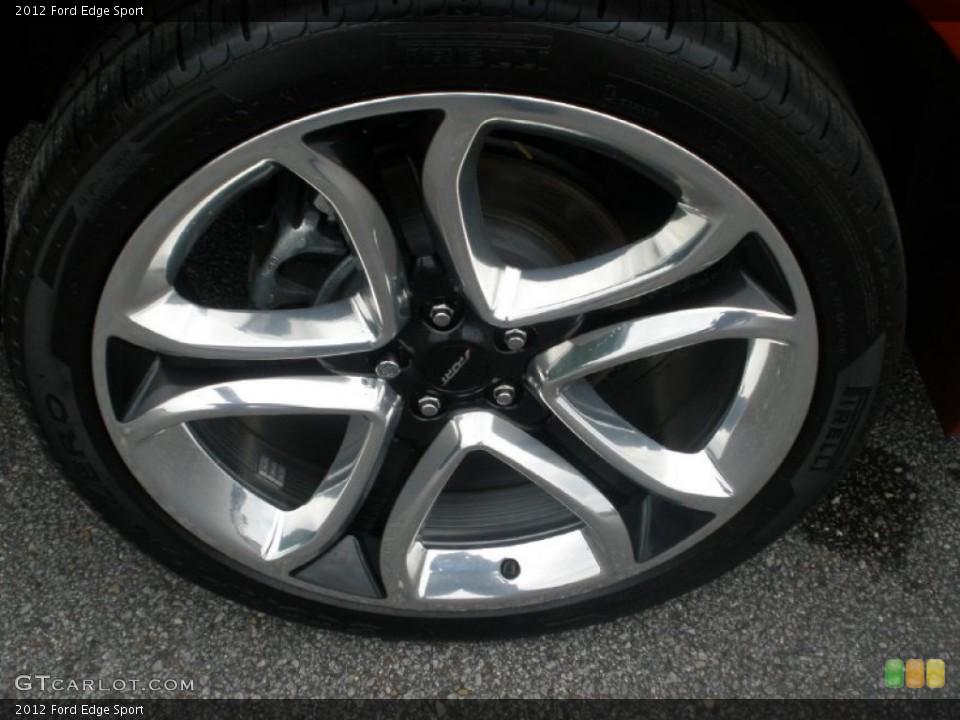 2012 ford edge sport tire pressure