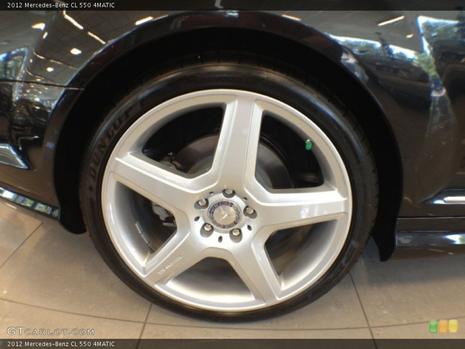 2012 Mercedes-Benz CL Wheels and Tires
