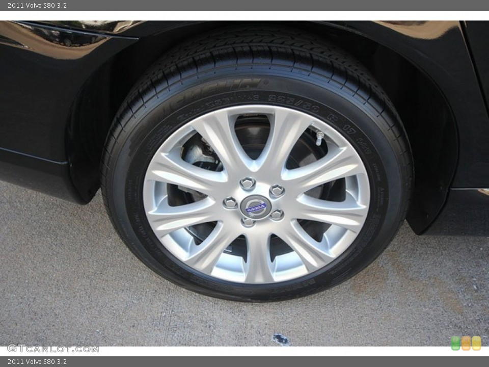 2011 Volvo S80 Wheels and Tires