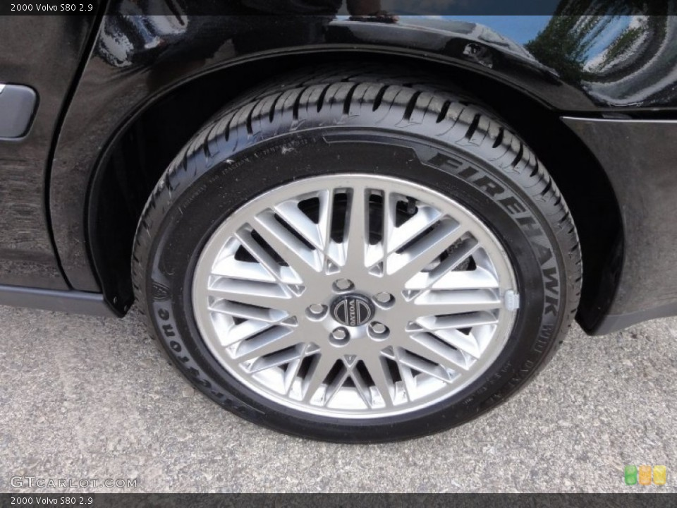 2000 Volvo S80 Wheels and Tires