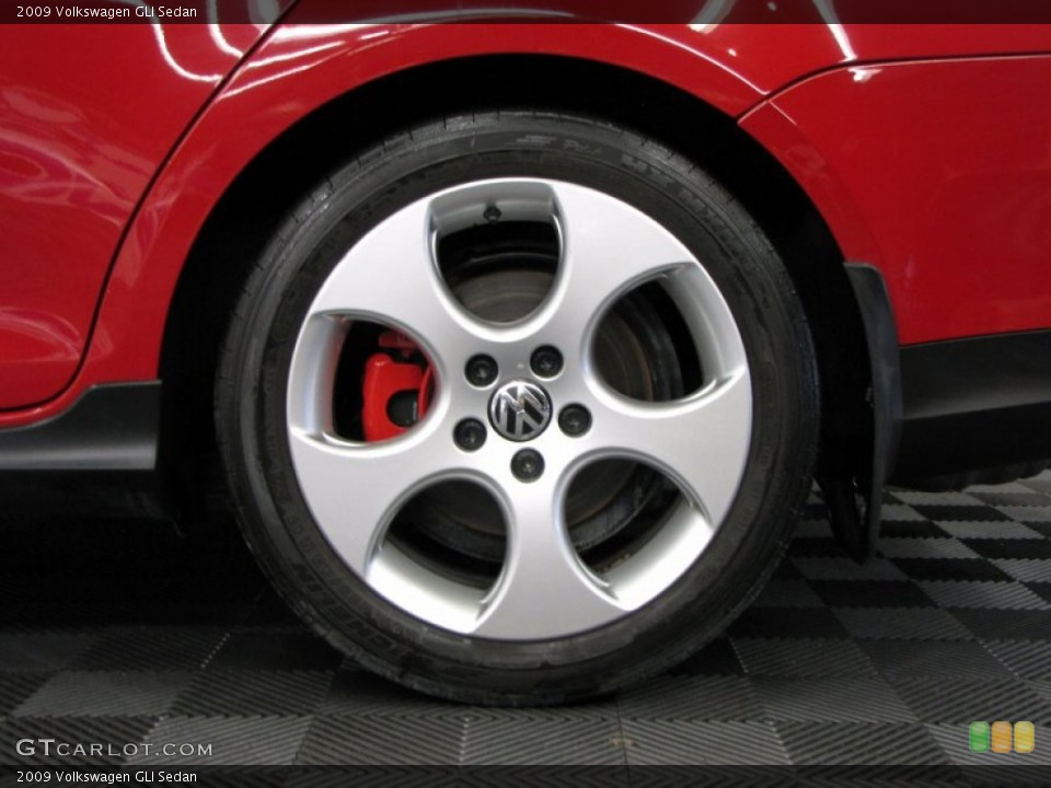 2009 Volkswagen GLI Sedan Wheel and Tire Photo #67274007