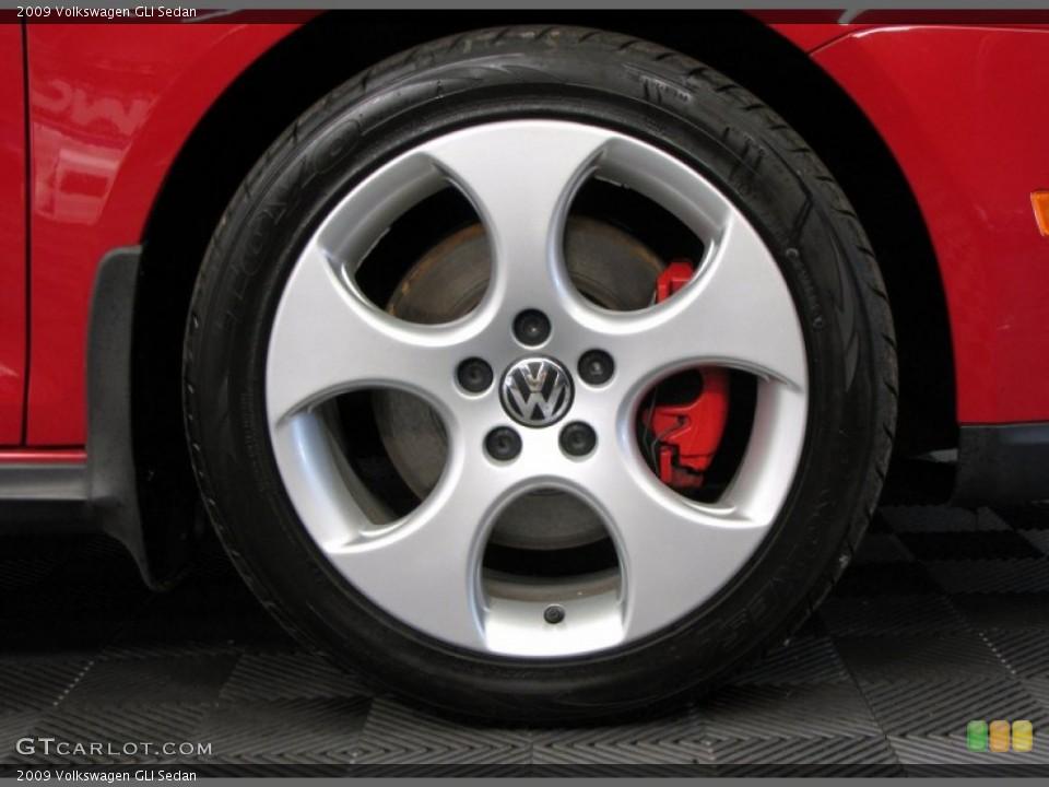 2009 Volkswagen GLI Sedan Wheel and Tire Photo #67274027