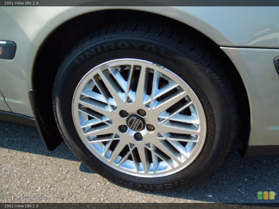 2001 Volvo S80 Wheels and Tires