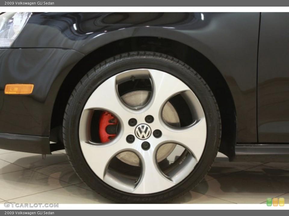 2009 Volkswagen GLI Sedan Wheel and Tire Photo #68148989
