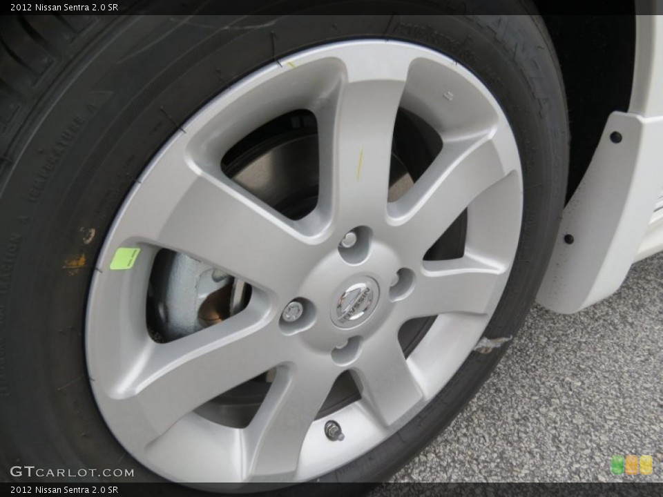 2012 Nissan Sentra 2.0 SR Wheel and Tire Photo #69891463 ...