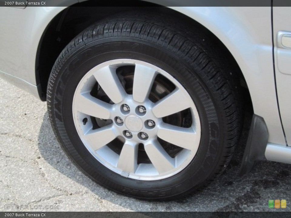 2007 Buick Terraza Wheels and Tires