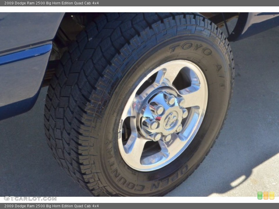 2009 Dodge Ram 2500 Wheels and Tires
