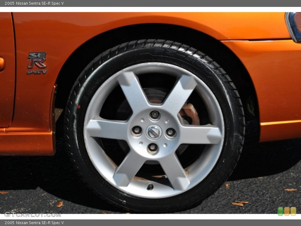 2005 Nissan Sentra SE-R Spec V Wheel and Tire Photo #72091579