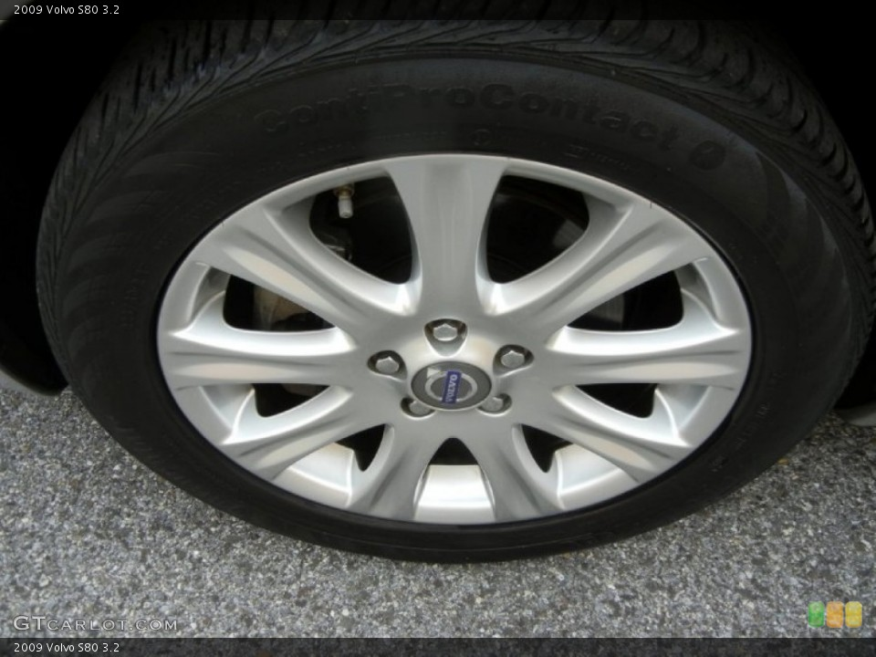 2009 Volvo S80 Wheels and Tires